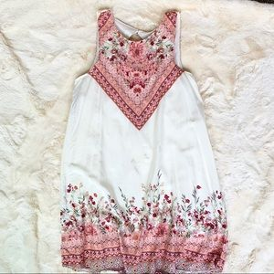 Floral, Sleeveless Dress